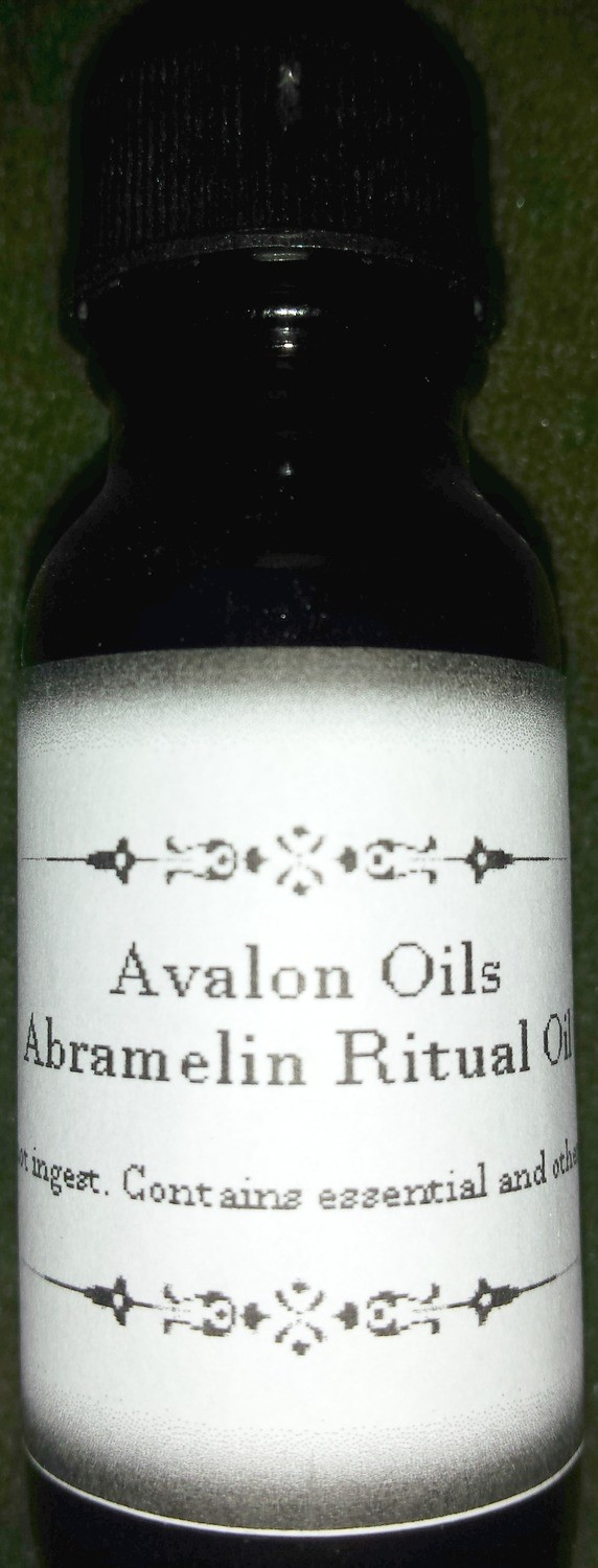 Abramelin Ritual Oil for Protection and Luck
