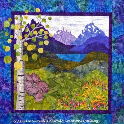 Colorado Escape Landscape Quilting