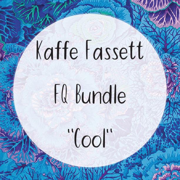 Kaffe Fassett Fat Quarter Bundle - Cool