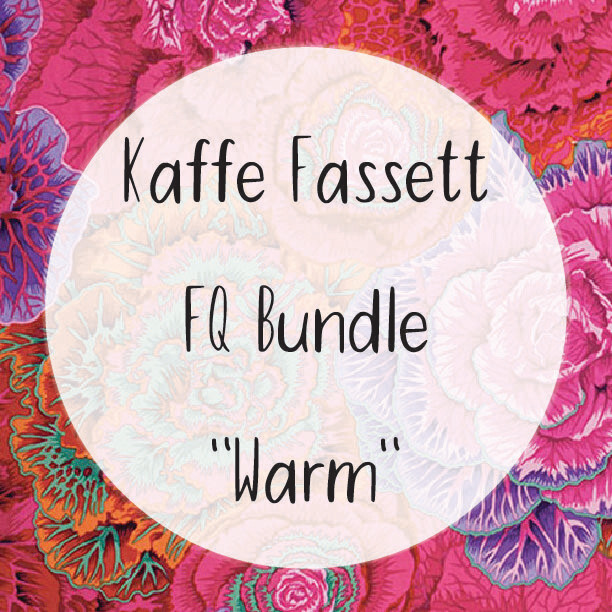 Kaffe Fassett Fat Quarter Bundle - Warm