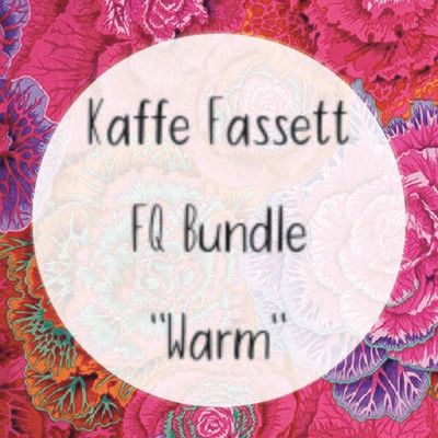 Kaffe Fassett Fat Quarter Bundle - Warm