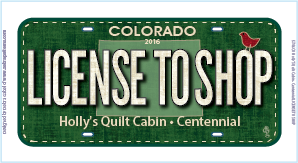 License to Shop License Plate 00002