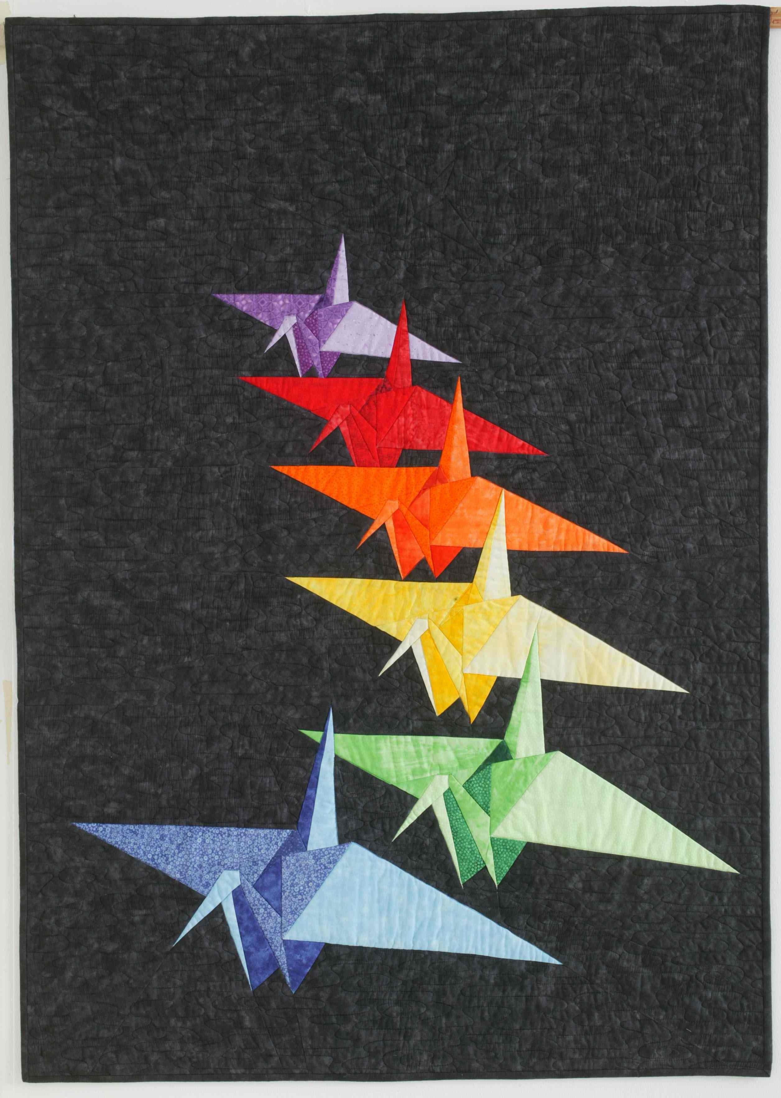 Peace Cranes Over Hiroshima 6471