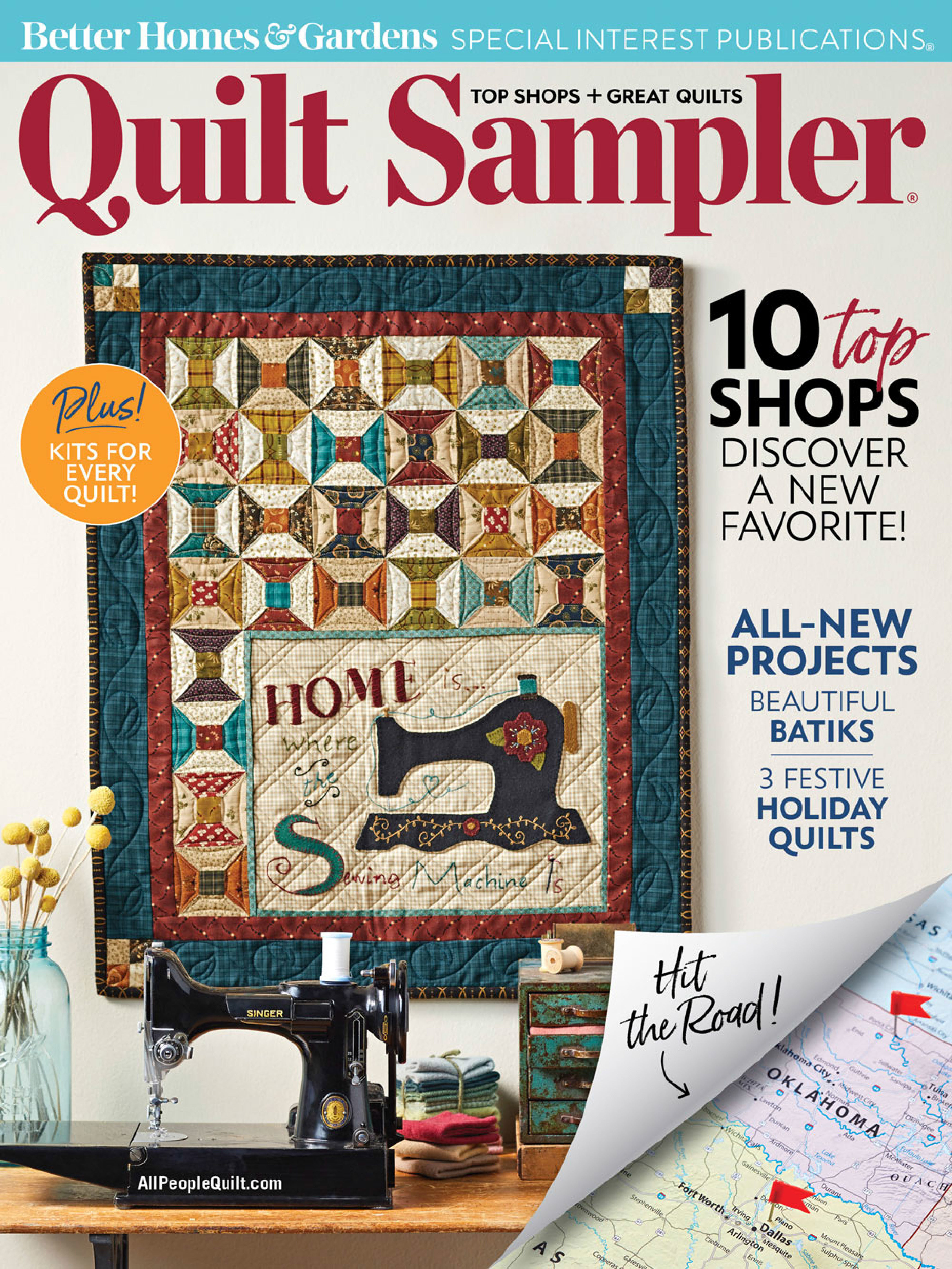 Quilt Sampler Fall/Winter 2018 1931