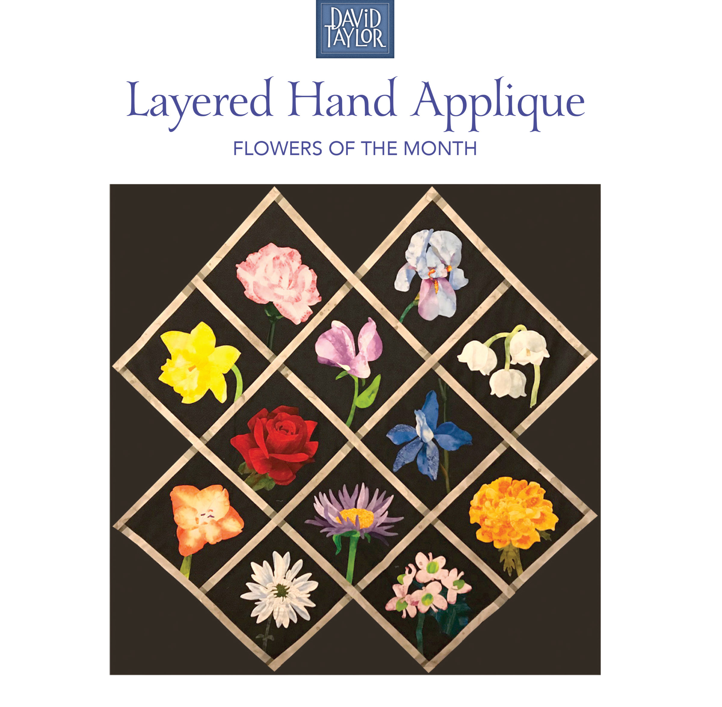 Layered Hand Applique with David Taylor 50293