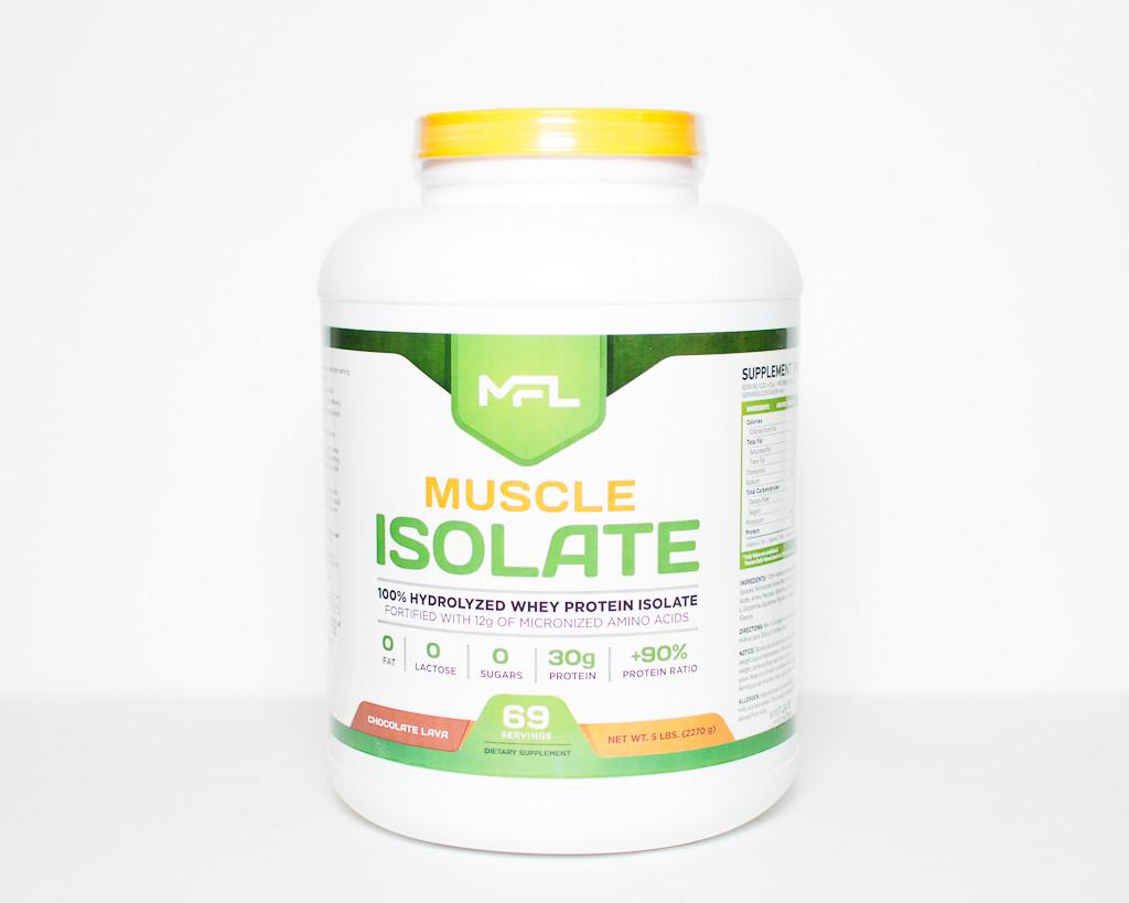 MFL Muscle Hydrolyzed Isolate Protein - 5lbs