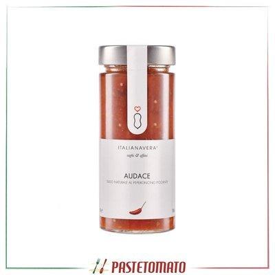 Sugo naturale al peperoncino piccante - prodotto da ITALIANAVERA