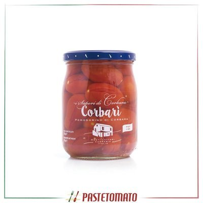 Pomodorino di Corbara in acqua e sale - prodotto da I SAPORI DI CORBARA