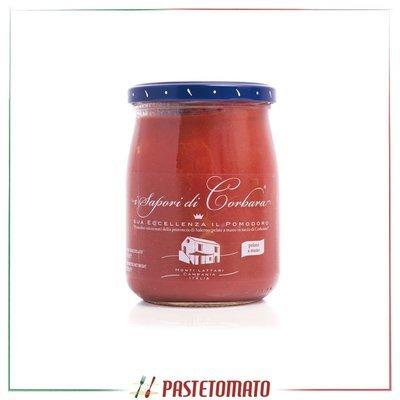 Pomodoro pelato a mano in salsa di pomodorino di Corbara - prodotto da I SAPORI DI CORBARA