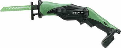Hitachi CR 10 DL Basic - Seghetto alternativo con batteria agli ioni di litio,10.8V