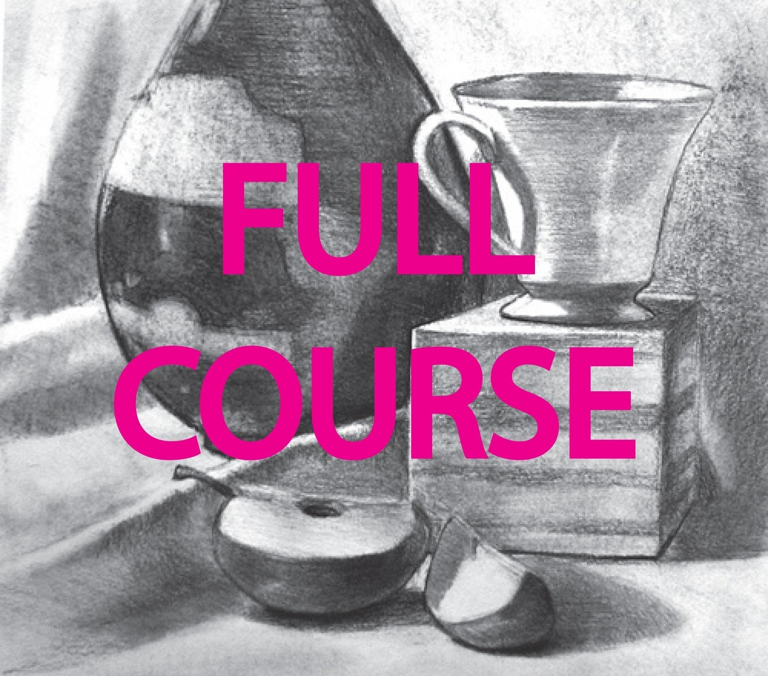 Drawing Course on Shape (Series 2 - six sessions)