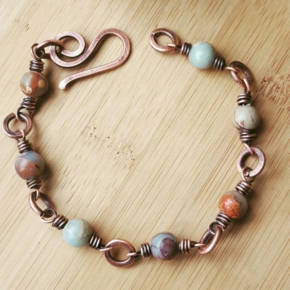 Wire Wrapping Jewelry Class for Beginners June 2 from 12:30-4pm