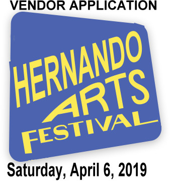 Hernando Art Festival VENDOR APPLICATION No Payment required-Invoiced Upon Approval