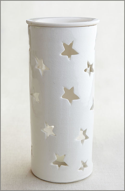 Essential Oil Burner - Tall (Starlight) 00092