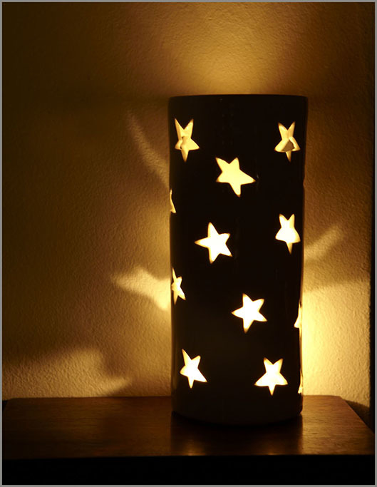 Essential Oil Burner - Tall (Starlight)