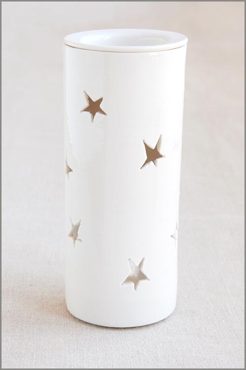Essential Oil Burner - Short (Starlight) 00312