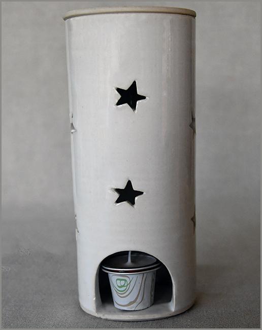 Essential Oil Burner - Short (Starlight)