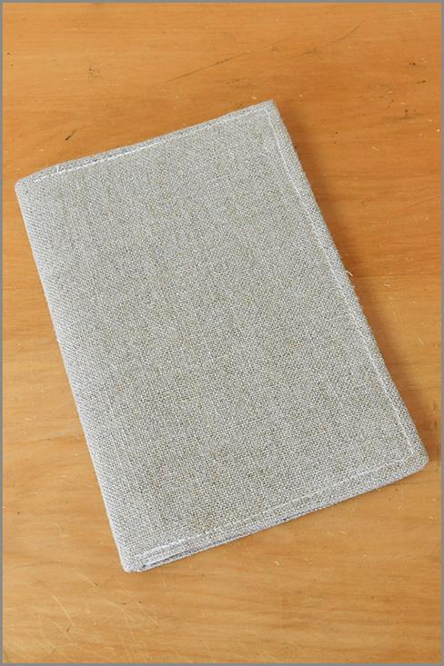 Stone Notebook - Linen 01130
