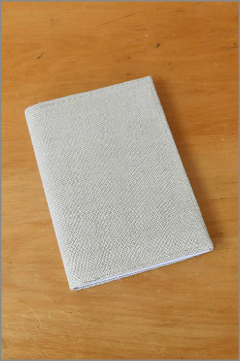 Notebook Recycled - Linen 01138