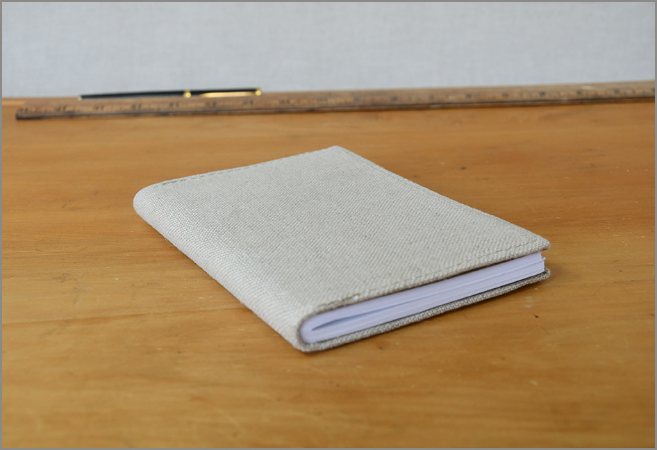Notebook Recycled - Linen