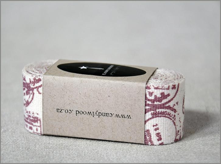 Stamped - Cotton Ribbon
