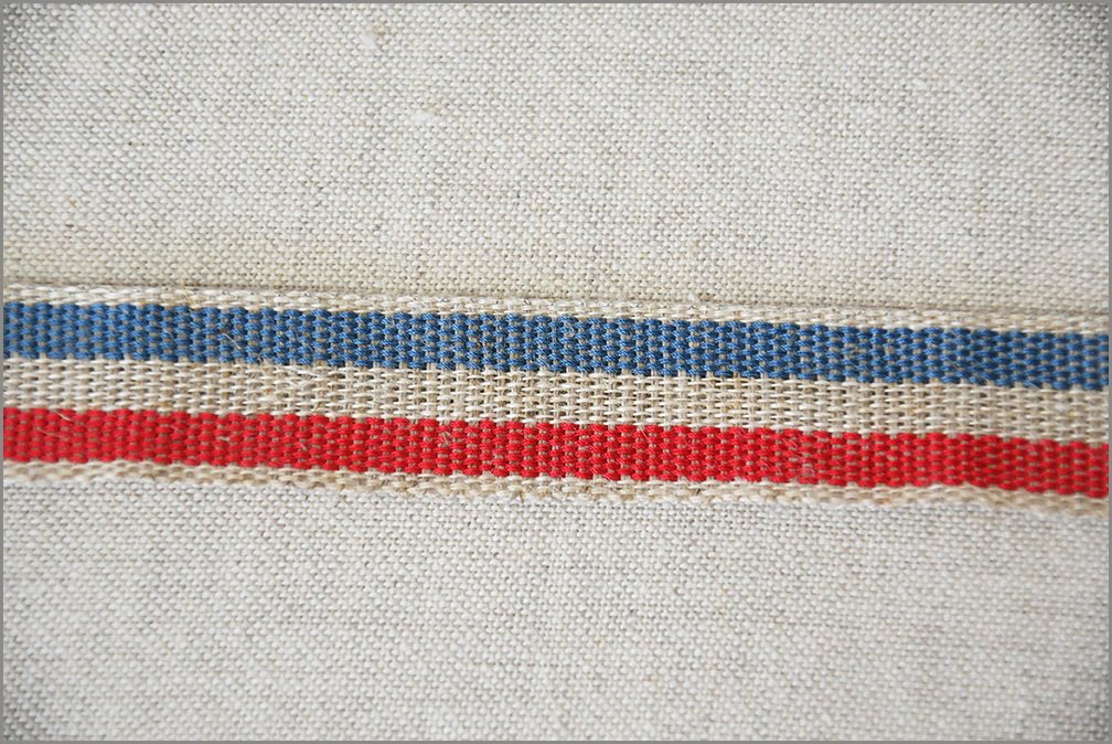 Almost French - Woven Flax Ribbon