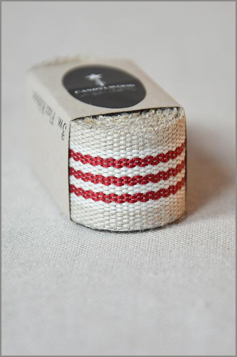 Aries - Woven Flax Ribbon 01213