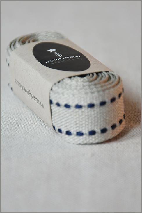 Gemini - Saddle-stitch Flax Ribbon 01179