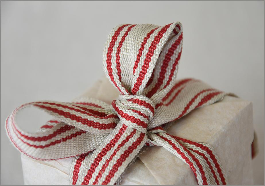 Gemini - Saddle-stitch Flax Ribbon