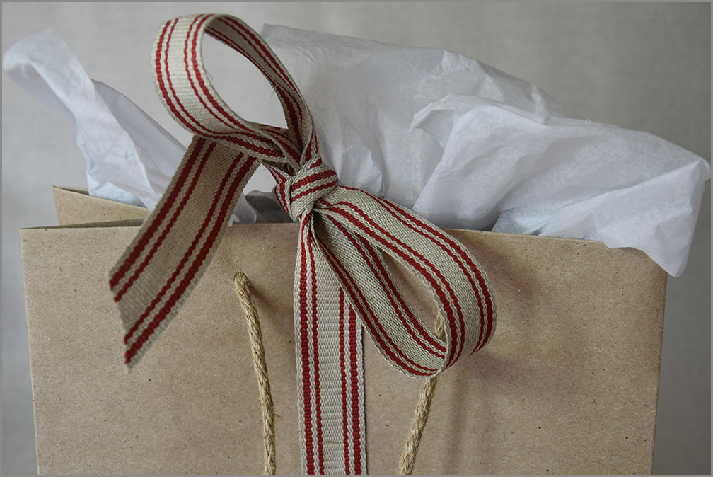 Rustic Red - Jute Ribbon