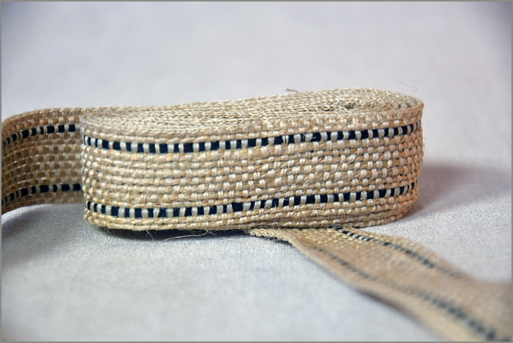 Rustic Black - Jute Ribbon