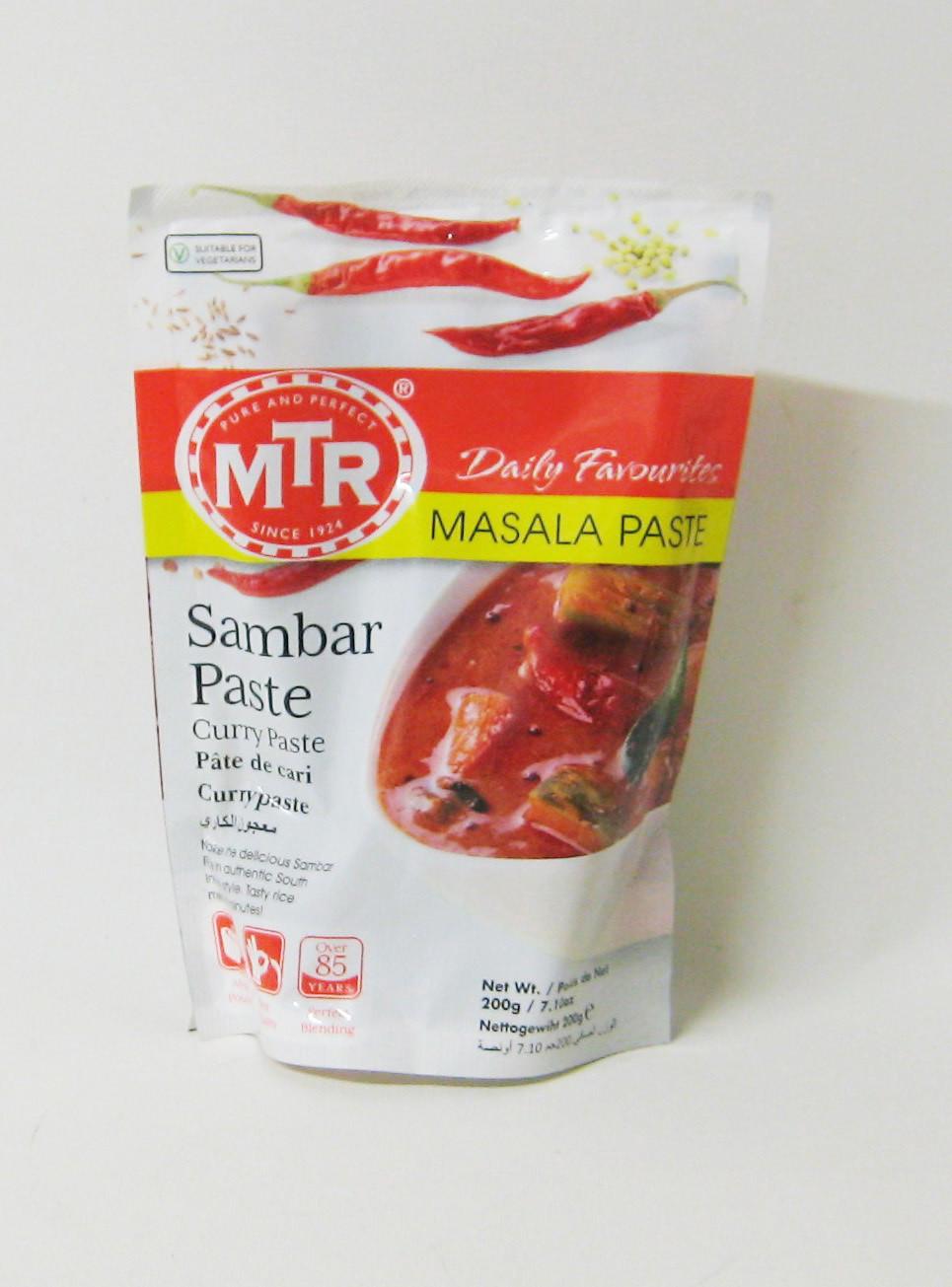 Sambar Paste  Curry Paste   200 gr