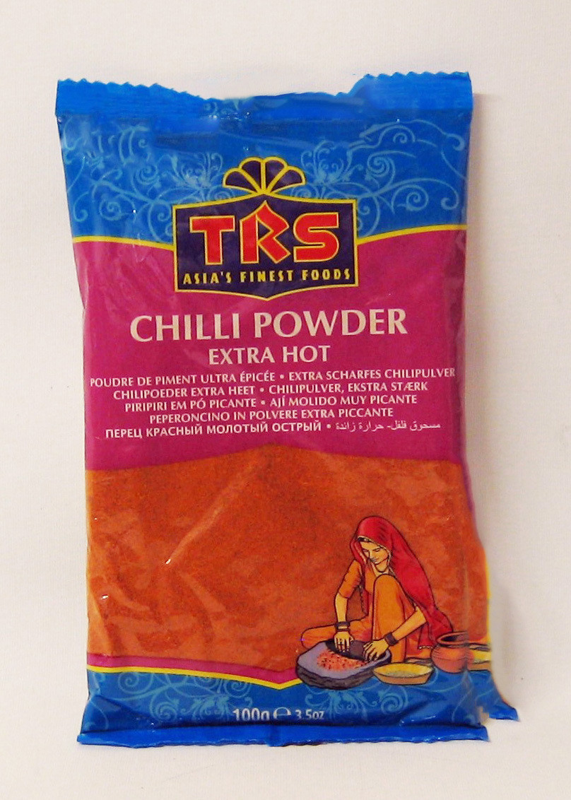 Chili Poder  Extra Hot   100 gr