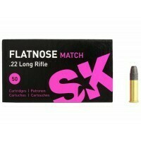 SK Flatnose Match .22 Lr FN 40 grain Box of 50 Rounds