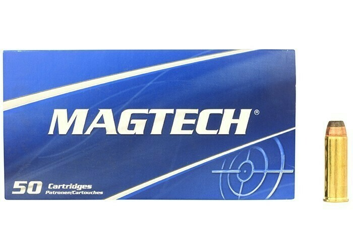 MAGTECH 44 Remington Magnum, Semi Jacketed Soft Point Flat, 240 Grain, 50 rounds