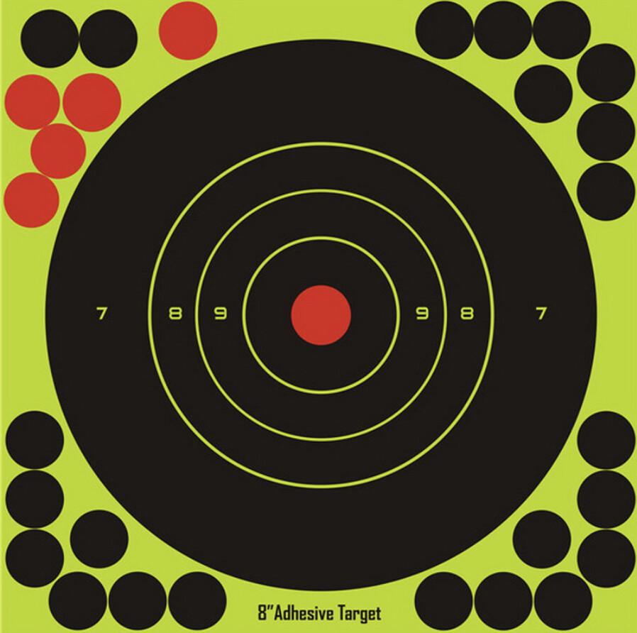 20 sticks per pack Splash flower target 8-inch adhesive Reactivity Shoot Target.