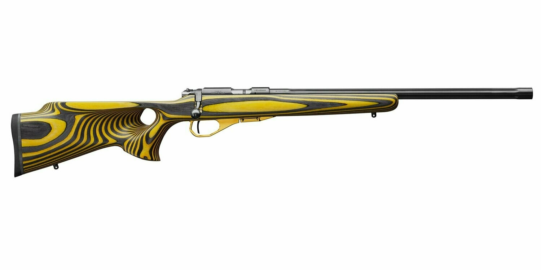 CZ 455 Thumbhole Yellow