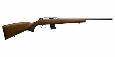 CZ 455 Stainless Wood