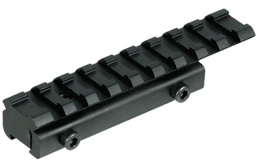 UTG Low Profile Airgun/.22 to Picatinny/Weaver Rail Adaptor