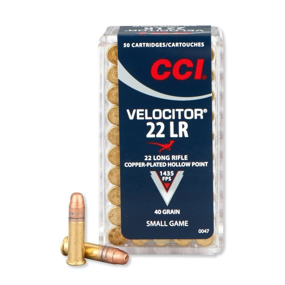 CCI 0047 22LR VELOCITOR Box of 50