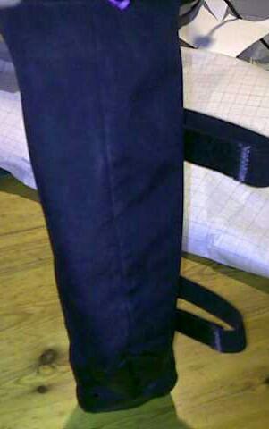 Achterkant met elastische banden
