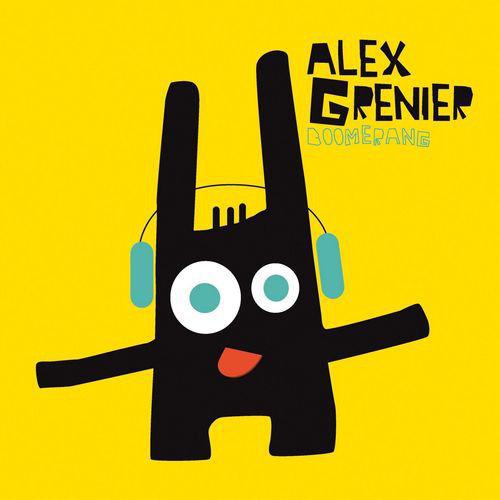 Alex Grenier / Boomerang // Audio CD 9 Tracks* 2009