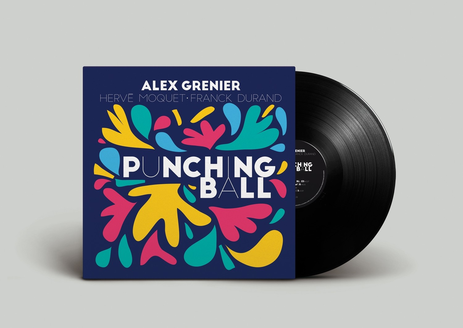Alex Grenier / Punching Ball // 33T vinyl 11 Tracks* 2016