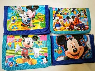 6 portafogli Topolino portamonete gadget a tema fine festa compleanno bambini