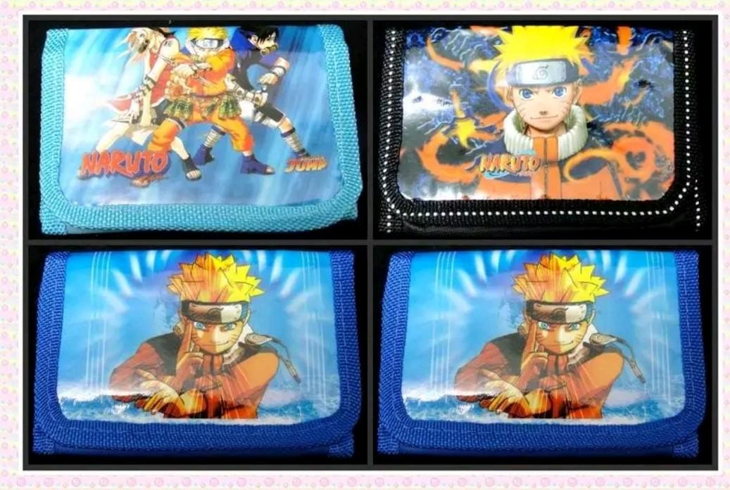6 portafogli Naruto portamonete gadget a tema fine festa compleanno bambini