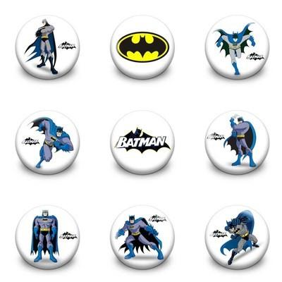 10 Spille 3cm zaino scuola personalizzate Batman