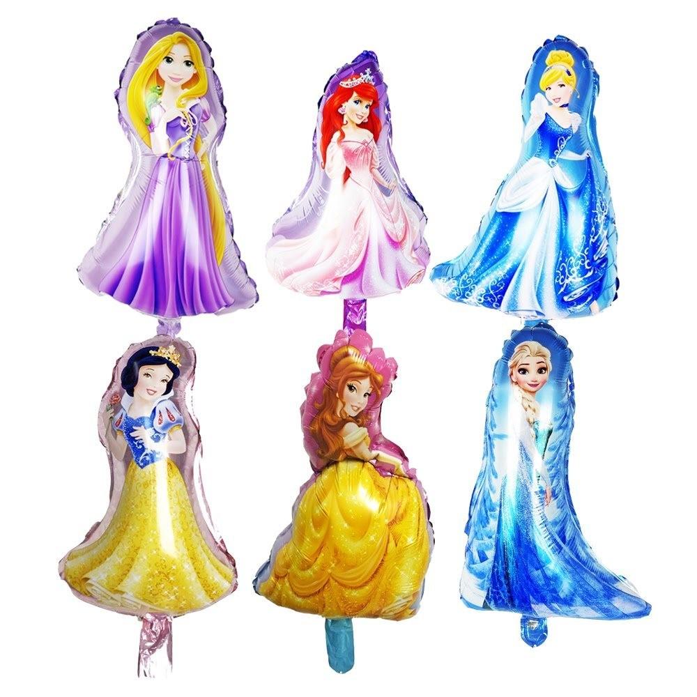 5 Palloncini Gonfiabili Principesse Disney Addobbi e decorazioni festa compleanno a tema