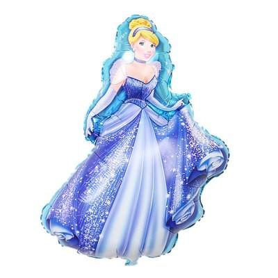 5 Palloncini Gonfiabili Principessa Cenerentola Disney Addobbi e decorazioni festa compleanno a tema