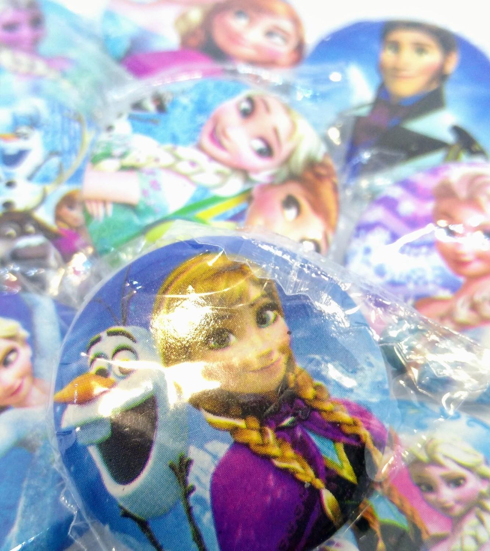 10 Spille 3cm zaino scuola personalizzate principesse anna elsa Frozen