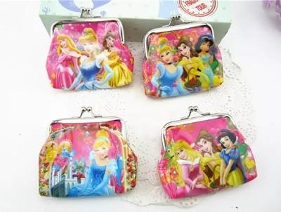 6 portafogli principesse Disney portamonete gadget a tema fine festa compleanno bambini